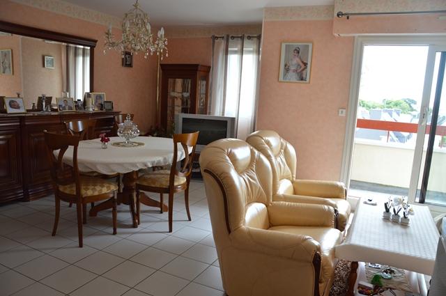 Vente  appartement Lorient - 3 chambres - 81 m²
