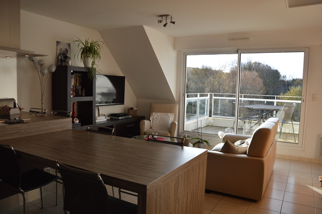 Vente  appartement Guidel - 2 chambres - 73 m²