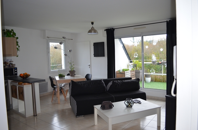Vente  appartement Guidel - 2 chambres - 56 m²