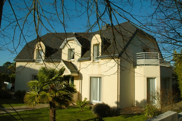 Vente  maison Larmor-Plage - 4 chambres - 188 m²