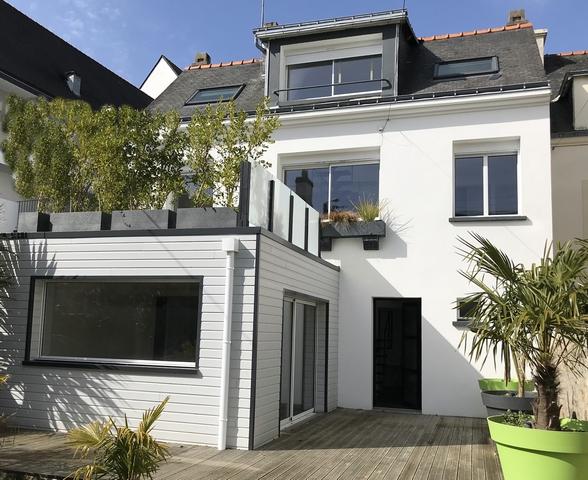 Vente  maison Lorient - 4 chambres - 143 m²