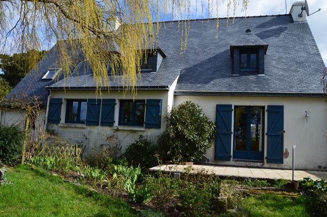 Vente  maison Ploemeur - 3 chambres - 123 m²