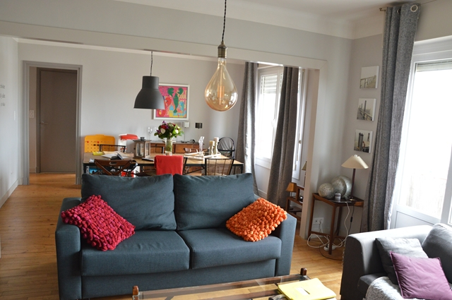 Vente  appartement Lorient - 2 chambres - 82 m²