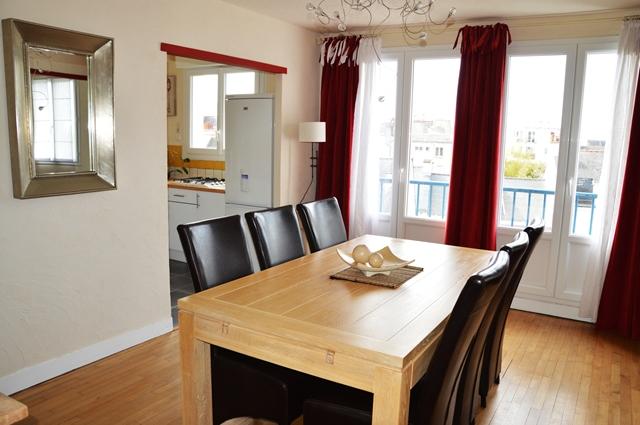 Vente  appartement Lorient - 2 chambres - 61 m²