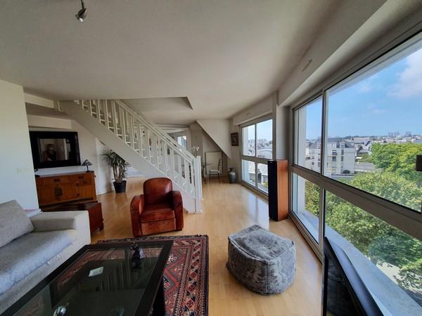 Vente  appartement Lorient - 2 chambres - 78 m²