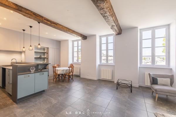 Vente  appartement Vannes Ville - 2 chambres - 111 m²