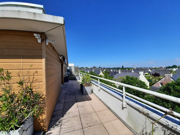 Vente  appartement Vannes Ville - 3 chambres - 91 m²