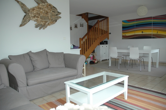Vente  maison Larmor-Plage - 3 chambres - 93 m²