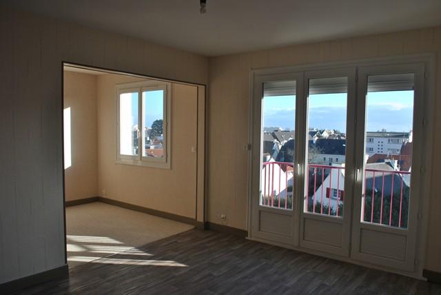 Vente  appartement Lorient - 2 chambres - 65 m²