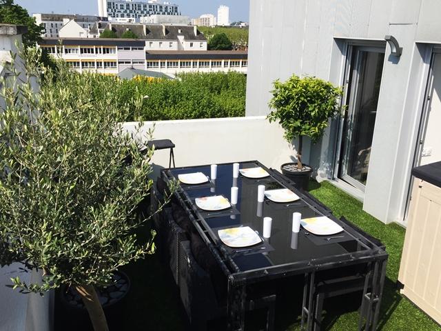 Vente  appartement Lorient - 4 chambres - 98 m²