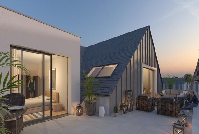 Vente  appartement Larmor-Plage - 3 chambres - 117 m²
