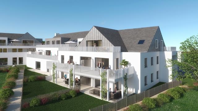 Vente  appartement Larmor-Plage - 2 chambres - 77 m²
