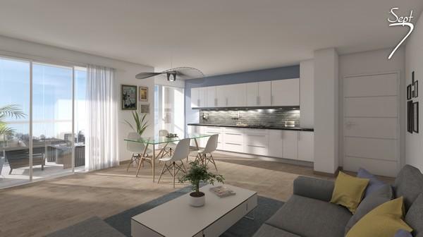 Vente  appartement Lorient - 2 chambres - 72 m²