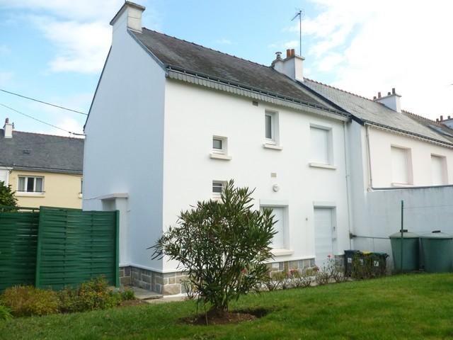 Vente  maison Lorient - 3 chambres/4 possibles - 67 m²