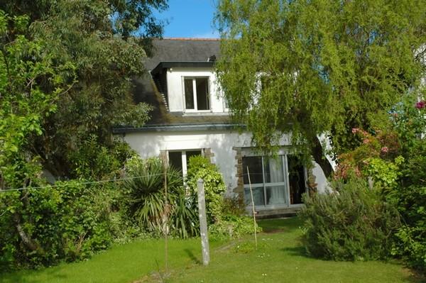 Vente  maison Larmor-Plage - 4 chambres - 135 m²