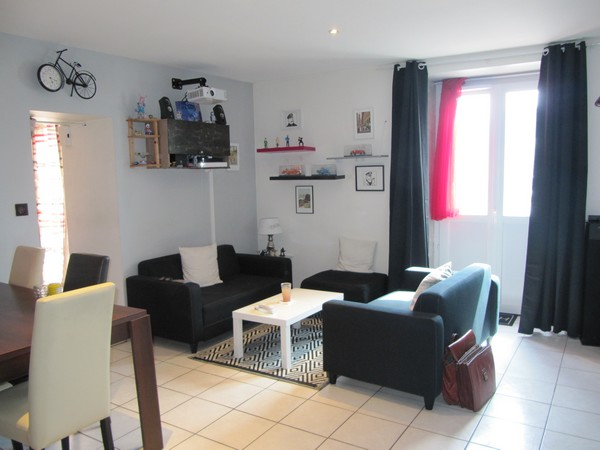 Vente  appartement Hennebont - 2 chambres/3 possibles - 79 m²