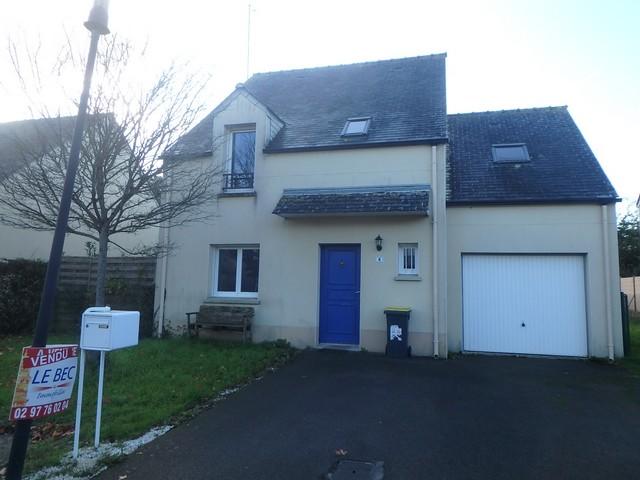 Vente  maison Lanester - 4 chambres - 103 m²