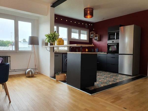 Vente  appartement Lorient - 3 chambres - 101 m²