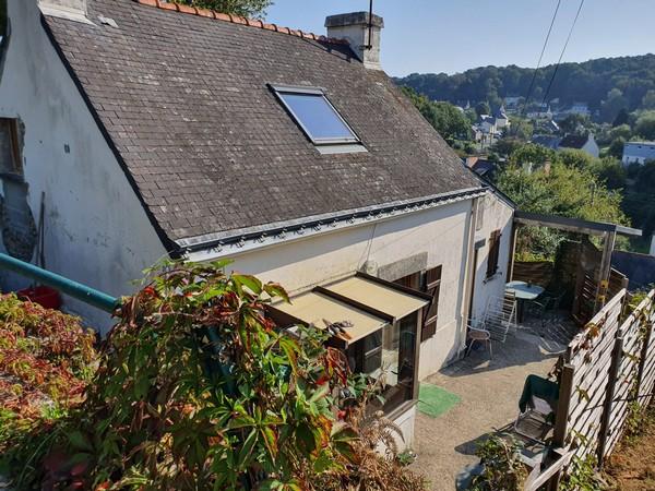 Vente  maison Hennebont - 2 chambres - 54 m²