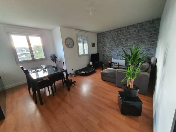 Vente  appartement Lorient - 3 chambres - 74 m²