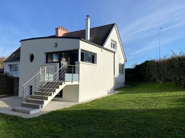 Vente  maison Larmor-Plage - 4 chambres - 137 m²