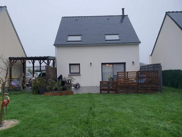 Vente  maison Kervignac - 3 chambres - 78 m²