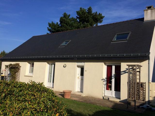 Vente  maison 14 km Nord de Vannes - 5 chambres - 130 m²
