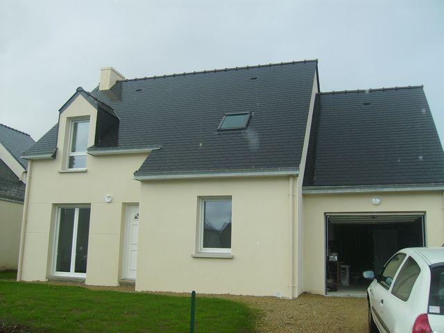 Vente  maison 14 km Nord de Vannes - 4 chambres - 91 m²