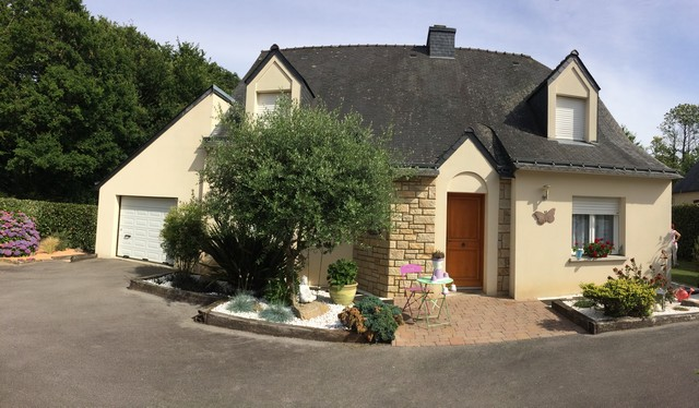 Vente  maison Elven - 4 chambres - 133 m²