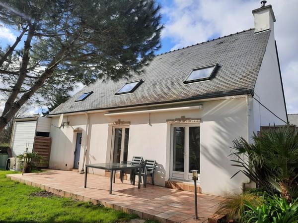 Vente  maison Vannes Ville - 4 chambres - 104 m²