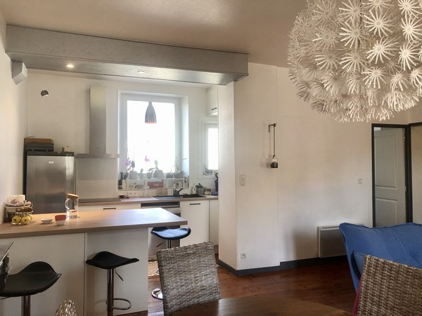 Vente  appartement Vannes Ville - 2 chambres - 70 m²