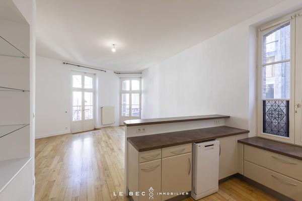 Vente  appartement Vannes Ville - 2 chambres - 55 m²