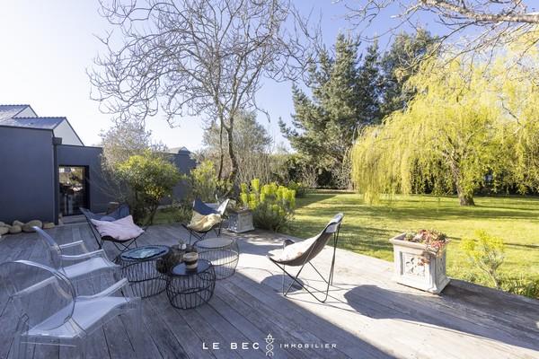 Vente  maison Vannes Ville - 5 chambres/6 possibles - 230 m²