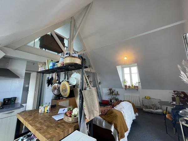 Vente  appartement Vannes Ville - 2 chambres - 42 m²