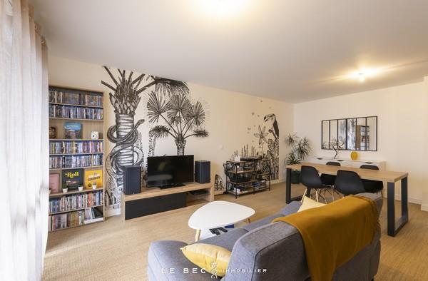 Vente  appartement Vannes Ville - 2 chambres/3 possibles - 88 m²